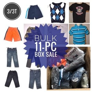 LOT 11-pc Clothes Bundle - Boys 3/3T - LOT0664